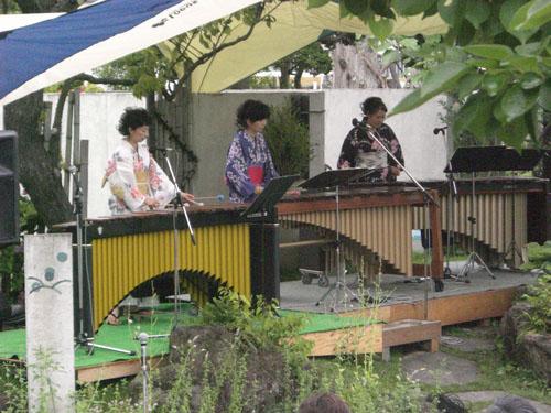 森に奏でるマリンバコンサート|竜門園