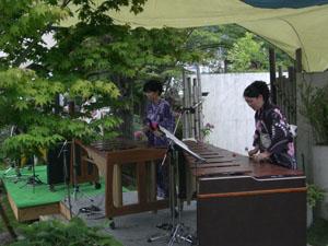 森に奏でるマリンバコンサート_1|竜門園