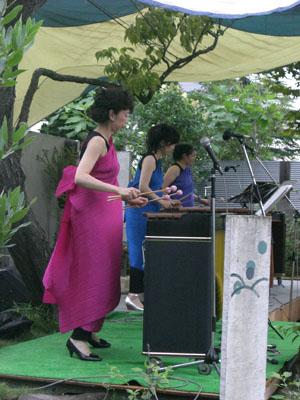 森に奏でるマリンバコンサート_3|竜門園