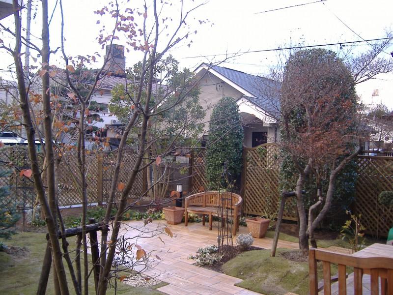 仙台市青葉区 H様邸 薔薇と宿根草の庭_5|竜門園