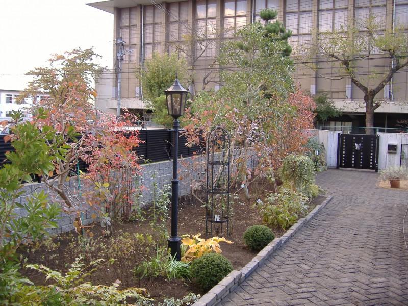 仙台市青葉区 H様邸 薔薇と宿根草の庭_9|竜門園