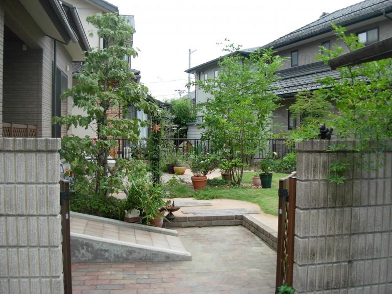 仙台市泉区 M様邸 芝生を楽しむ庭_5|竜門園