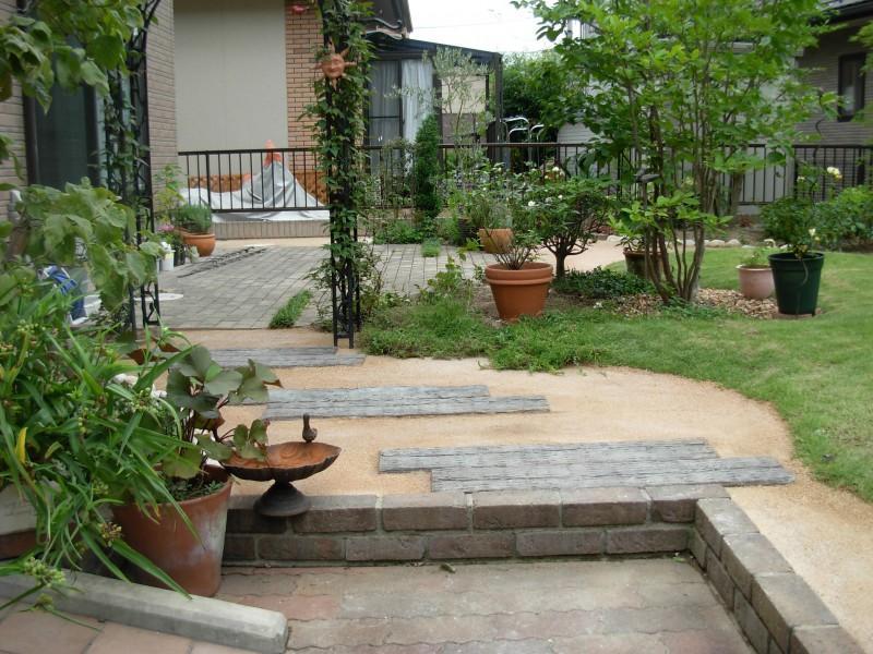 仙台市泉区 M様邸 芝生を楽しむ庭_6|竜門園