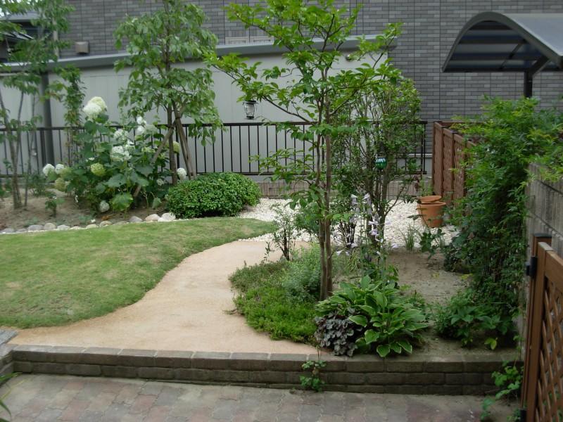 仙台市泉区 M様邸 芝生を楽しむ庭_8|竜門園
