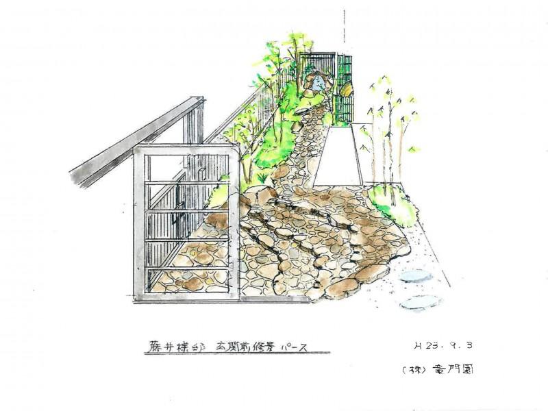 仙台市泉区 F様邸 和の佇まいを感じるエクステリア_3|竜門園