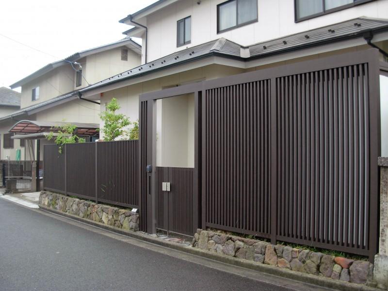 仙台市泉区 F様邸 和の佇まいを感じるエクステリア|竜門園