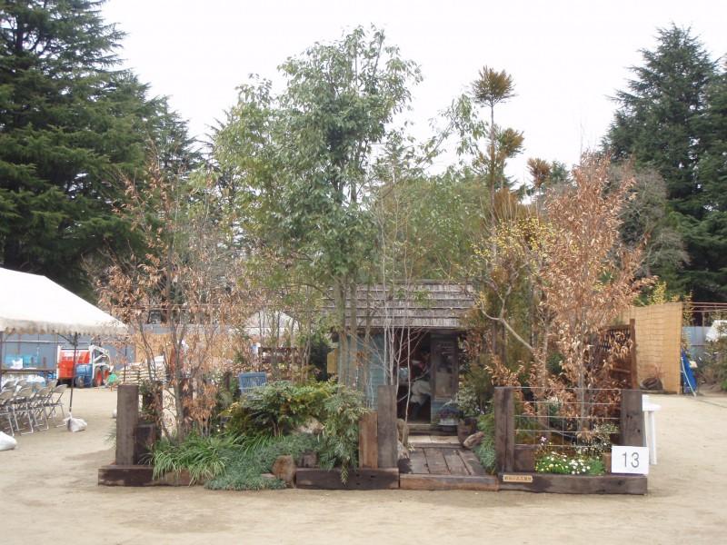 仙台植木市2010 「納屋のある風景」 伊達な庭 vol.10_1|竜門園