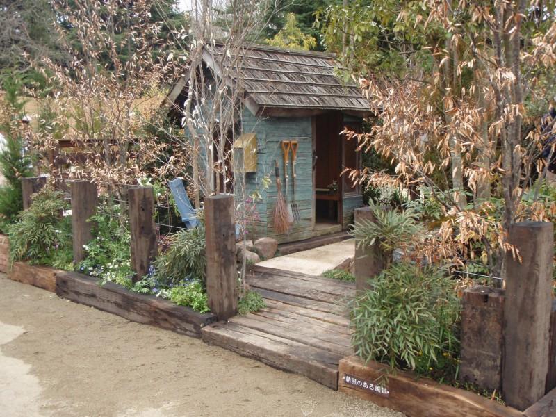 仙台植木市2010 「納屋のある風景」 伊達な庭 vol.10|竜門園