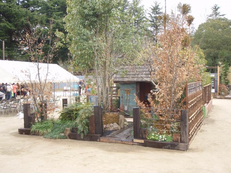 仙台植木市2010 「納屋のある風景」 伊達な庭 vol.10_2|竜門園