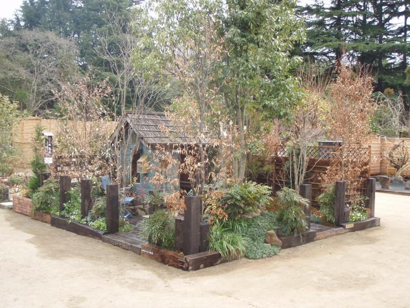 仙台植木市2010 「納屋のある風景」 伊達な庭 vol.10_4|竜門園