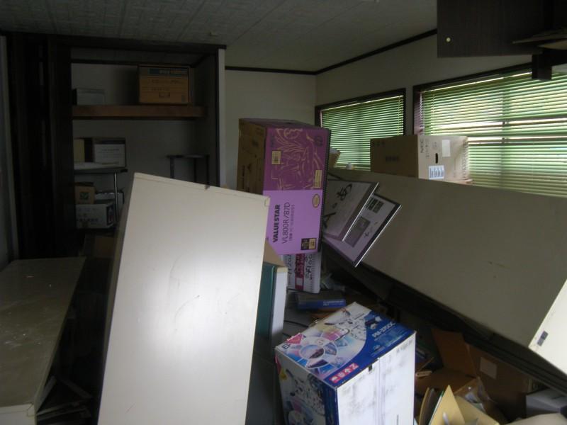 事務所の改修が始まりました。_1|竜門園