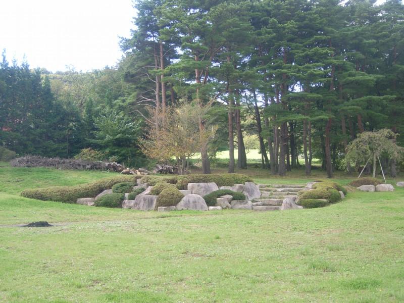 福島県 T邸 借景を生かした回遊式池泉庭園_8|竜門園