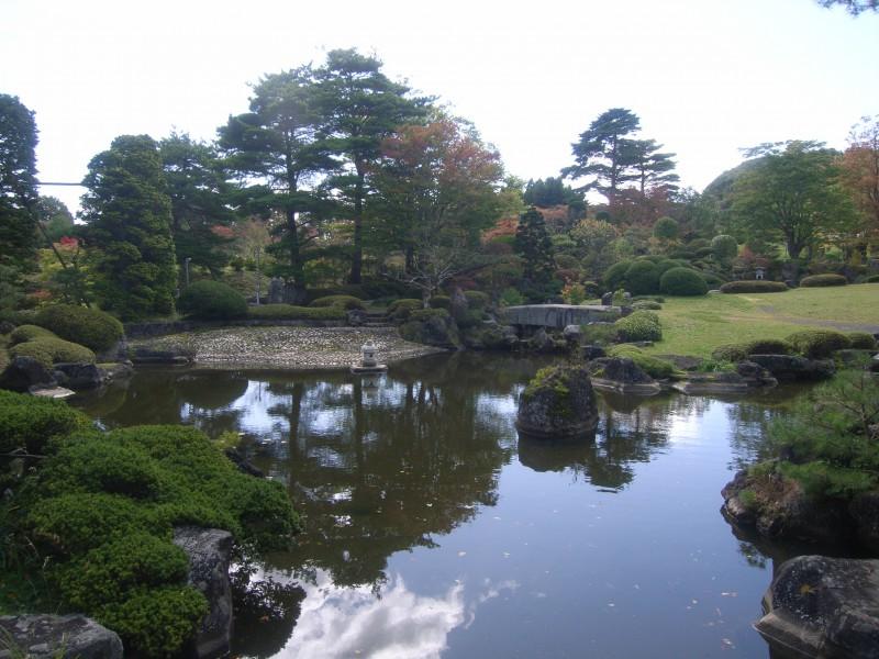 福島県 T邸 借景を生かした回遊式池泉庭園_4|竜門園