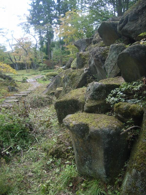 福島県 T邸 借景を生かした回遊式池泉庭園_11|竜門園