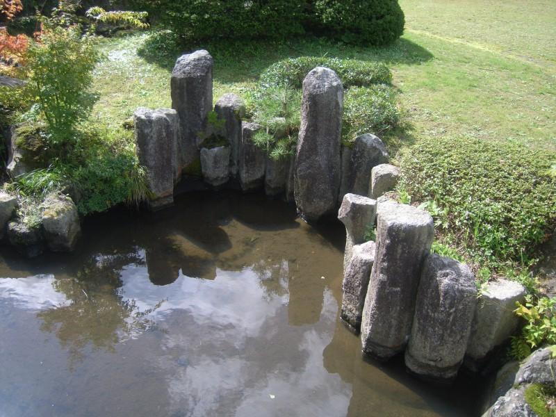 福島県 T邸 借景を生かした回遊式池泉庭園_6|竜門園