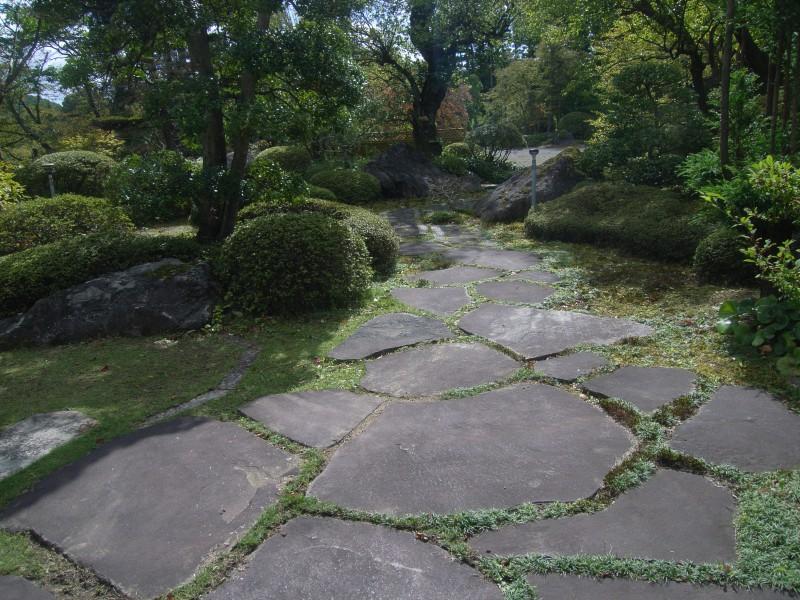 福島県 T邸 借景を生かした回遊式池泉庭園_5|竜門園