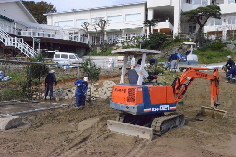 気仙沼で復興支援のボランティア活動_3|竜門園