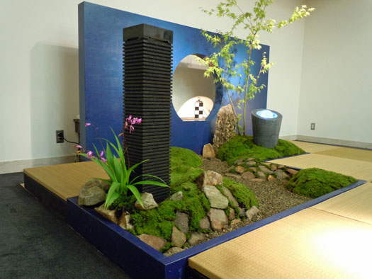 藤田喬平ガラス美術館 「流水」_5|竜門園