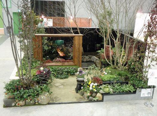 東北ラン展2010 「 菜摘の庭」伊達な庭 vol.9 最優秀賞・河北賞_1|竜門園