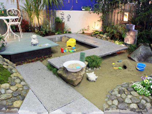 東北ラン展2014 「住る(笑顔)~こんな砂場あってもいい~」 優秀賞日本造園組合連合会理事長賞|竜門園