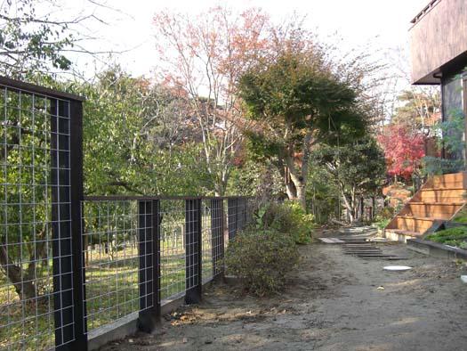 多賀城市 S様邸 枕木とメッシュフェンス_5|竜門園