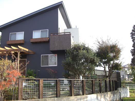 多賀城市 S様邸 枕木とメッシュフェンス|竜門園