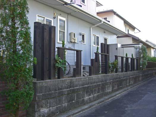 富谷町 S様邸 生垣を撤去して新設のフェンス取付_2|竜門園