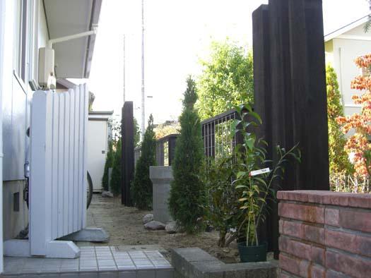 富谷町 S様邸 生垣を撤去して新設のフェンス取付_4|竜門園