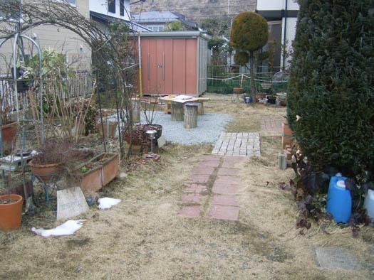 仙台市泉区 K様邸 サークルテラスとアプローチ_1|竜門園
