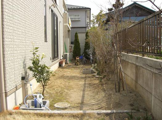 宮城県利府町 T様邸 目隠しフェンスとシンボルツリー_1|竜門園