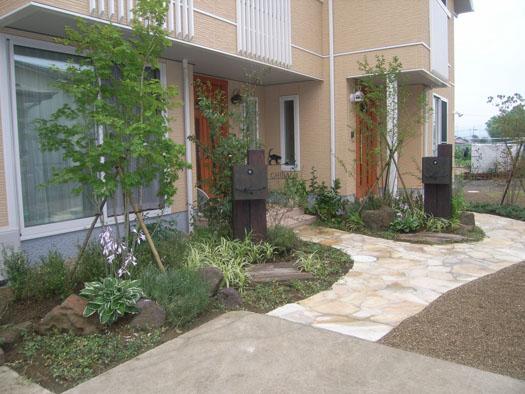 石巻市 C様・S様邸 アプローチでつなぐ2世帯住宅|竜門園