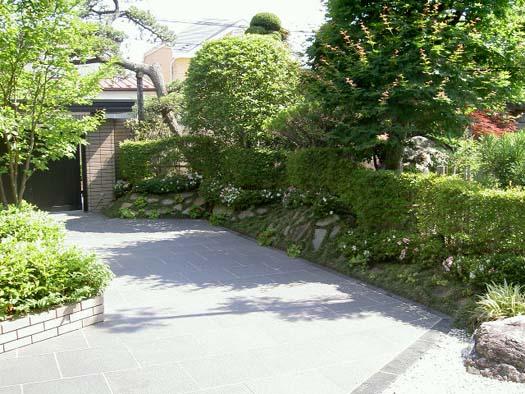 仙台市泉区 M様邸 リガーデン ケヤキ繁る庭_8|竜門園