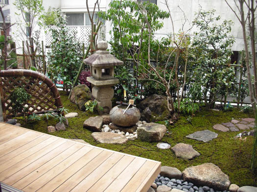 東京都白金台 I 邸 「白滋の森」_7|竜門園