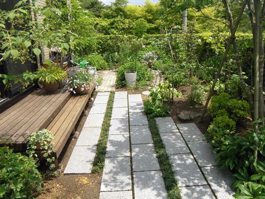 仙台市泉区 I 様邸 リガーデン 白いテラスの映える庭_4|竜門園