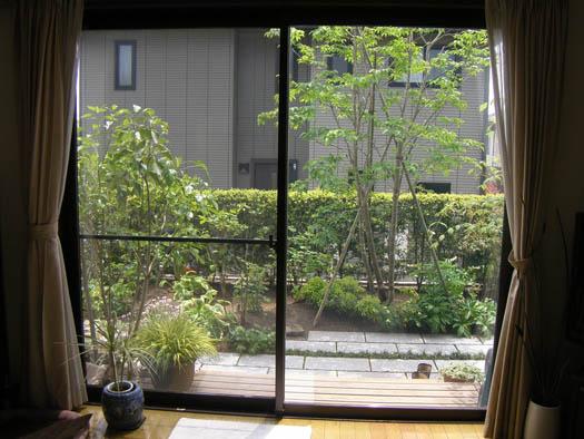仙台市泉区 I 様邸 リガーデン 白いテラスの映える庭_6|竜門園