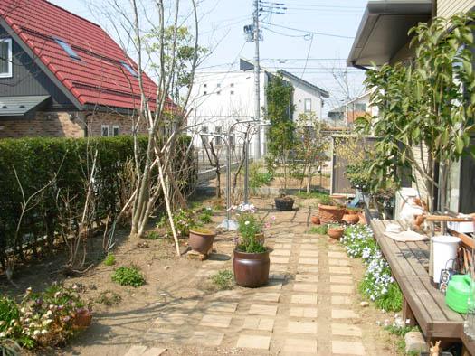仙台市泉区 I 様邸 リガーデン 白いテラスの映える庭_1|竜門園
