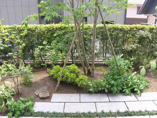 仙台市泉区 I 様邸 リガーデン 白いテラスの映える庭_8|竜門園