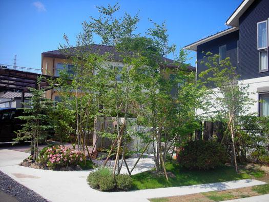 仙台市泉区 K様邸 雑木の庭|竜門園