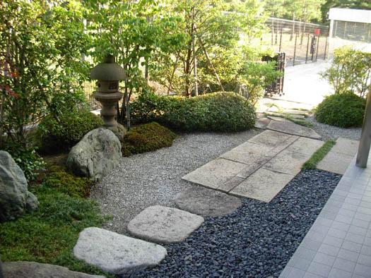 仙台市青葉区 K様邸 伊予青石の庭_1|竜門園