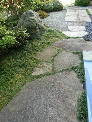 仙台市青葉区 K様邸 伊予青石の庭_6|竜門園