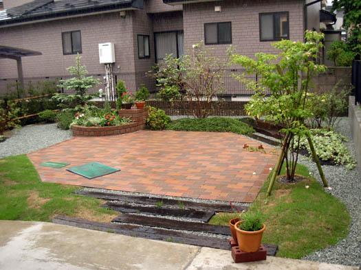 仙台市泉区 K様邸 バリアフリーのエクステリア工事_10|竜門園
