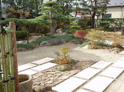 宮城県岩沼市 M様邸 リガーデン「 縁 (えにし)の 庭」|竜門園