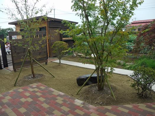 古川市 N様邸 目隠しフェンスと枕木_10|竜門園