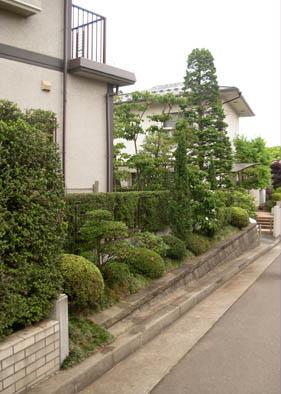 仙台市泉区 O様邸 緑の目隠しフェンス_8|竜門園