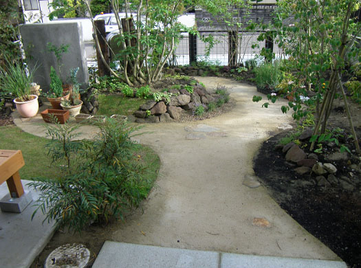 仙台市泉区 S様邸 雑木の庭_7|竜門園
