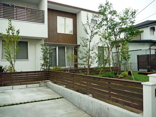 仙台市泉区 S様邸 ウッドフェンスと芝庭_2|竜門園