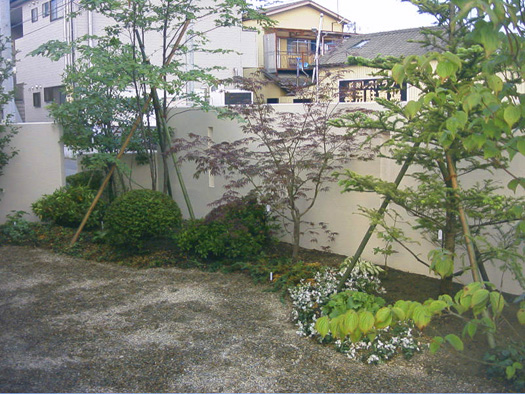 南三陸町 Y様邸 2世帯の庭_2|竜門園
