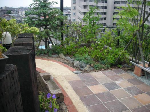 仙台市宮城野区 Y様邸 アプローチがつくる安らぎの庭|竜門園