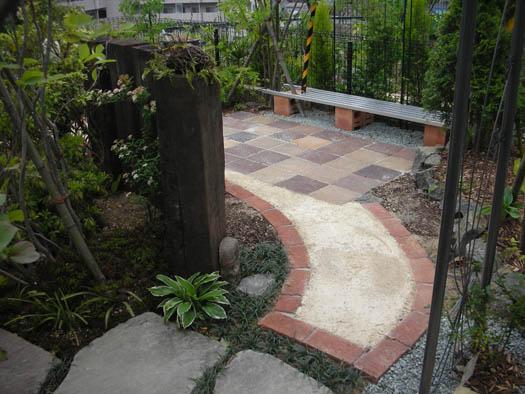 仙台市宮城野区 Y様邸 アプローチがつくる安らぎの庭_10|竜門園