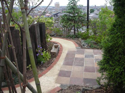 仙台市宮城野区 Y様邸 アプローチがつくる安らぎの庭_5|竜門園